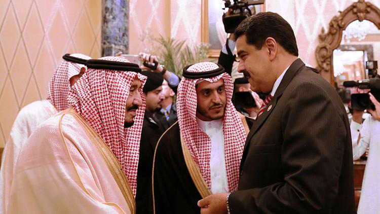 مادورو يبحث في الرياض عن