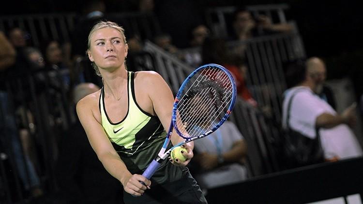 رابطة محترفات التنس تستبعد شارابوفا من التصنيف العالمي