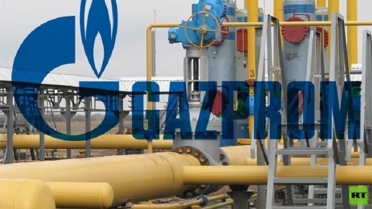 مخزونات الغاز الروسية تسجل رقما قياسيا