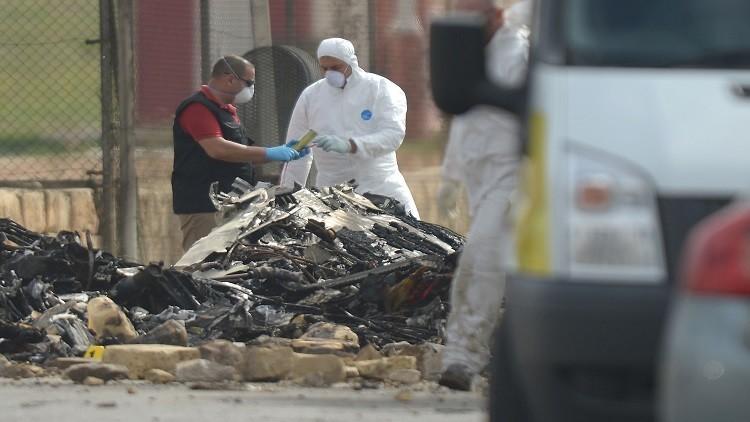 الاتحاد الأوروبي ينفي صلته بالطائرة التي تحطمت في مالطا