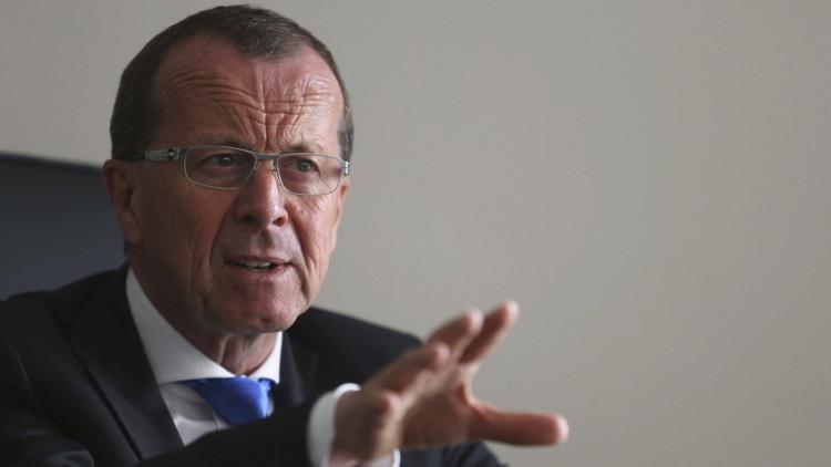 مبعوث الأمم المتحدة الخاص إلى ليبيا مارتن كوبلر