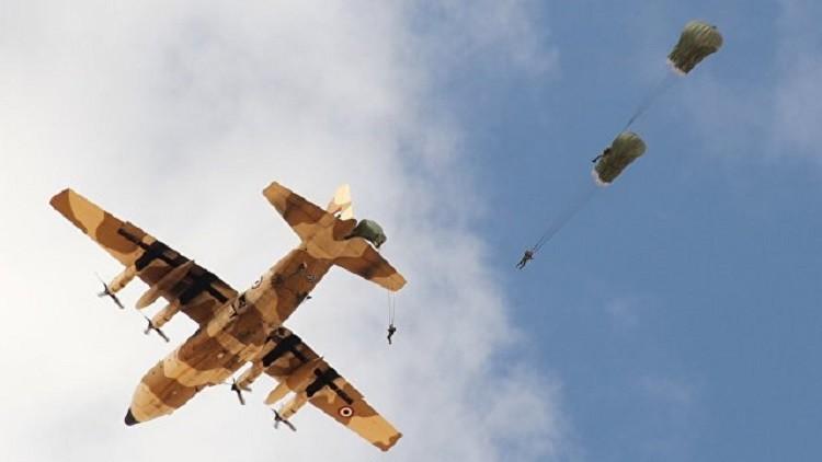 تدريبات روسية مصرية لمكافحة الإرهاب في ظروف صحراوية صعبة