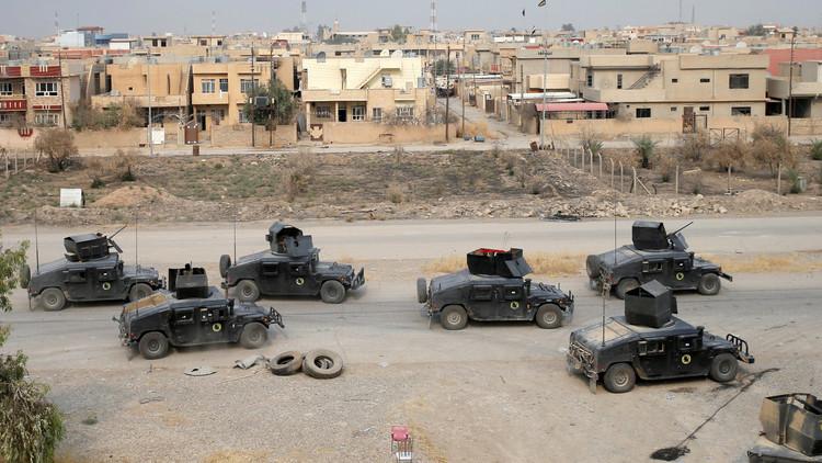 معركة الموصل تدخل يومها التاسع والجيش العراقي يستعيد الرطبة