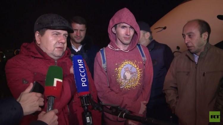 عودة طاقم ناقلة نفط روسية إلى الوطن بعد 13 شهرا من احتجازهم في ليبيا