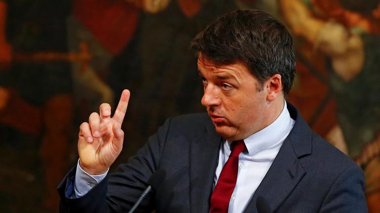 رينزي يهدد بقطع الطريق أمام ميزانية أوروبا بسبب اللاجئين
