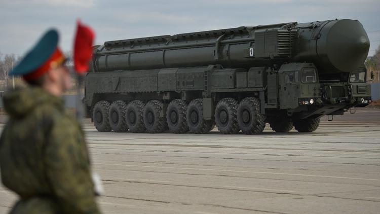 وظهر الصاروخ الروسي