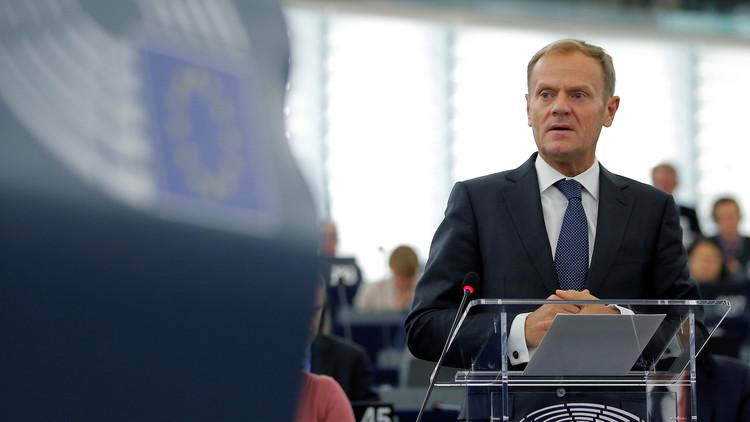 توسك: موسكو تسعى إلى إضعاف الاتحاد الأوروبي