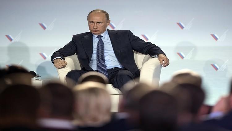 بوتين يتهم كييف بارتكاب