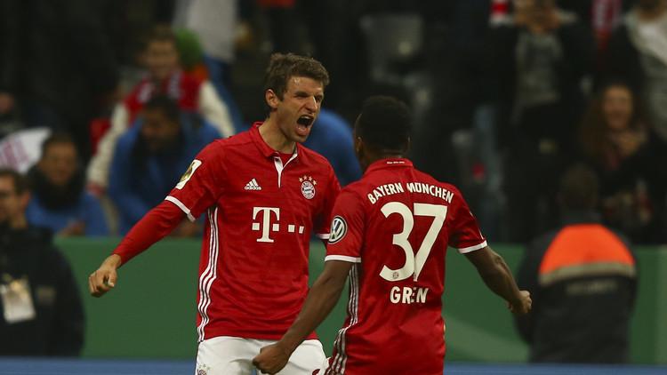 بايرن ميونيخ يعبر بسهولة في كأس ألمانيا