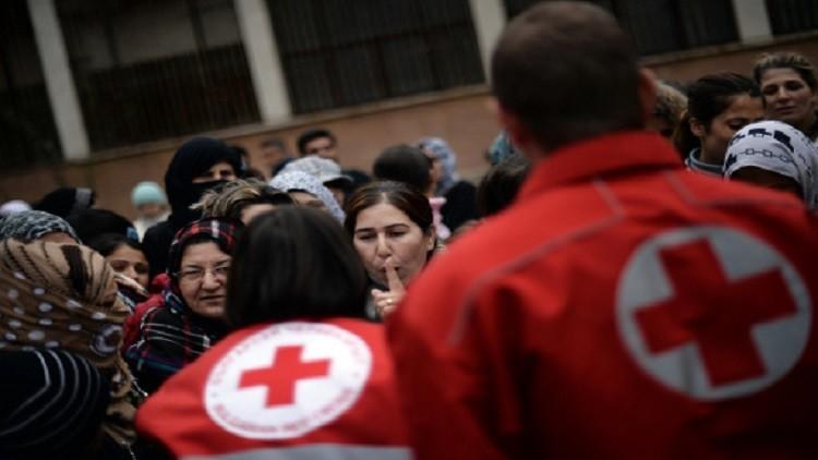 الصليب الأحمر يأمل بإجلاء المرضى والجرحى من حلب