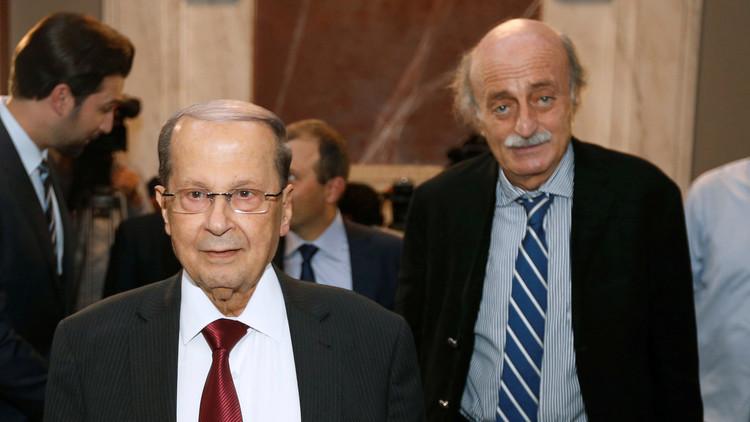 جنبلاط يدعم ترشيح عون رئيسا للبنان