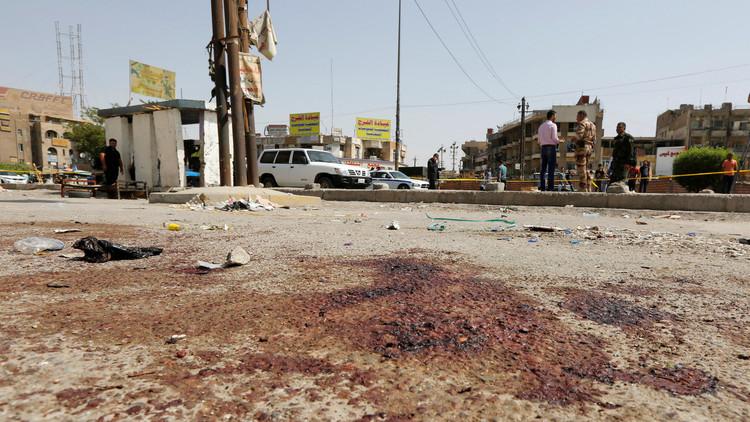 مقتل 7 وإصابة 10 بتفجير انتحاري غرب بغداد