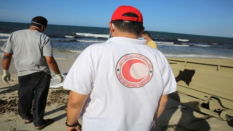 انتشال جثث لمهاجرين قبالة سواحل ليبيا