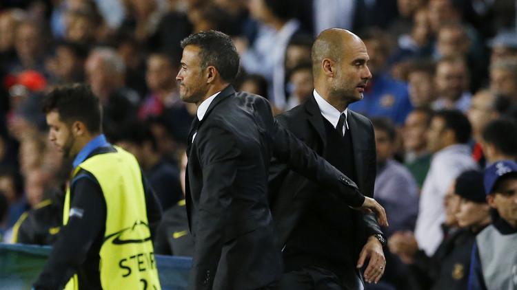إنريكي يطالب لاعبي برشلونة أن يكونوا أكثر فعالية في مواجهة السيتي
