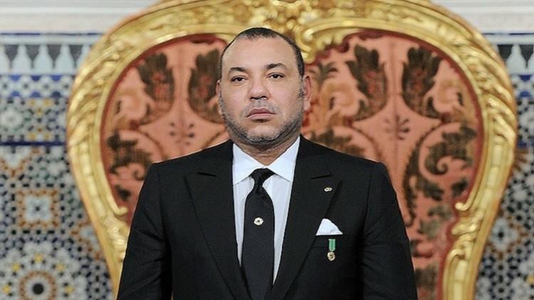 عاهل المغرب يعزي أسرة