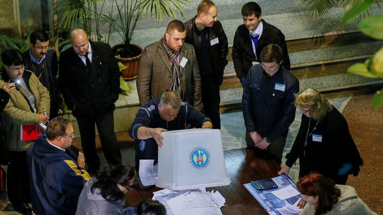 مولدوفا تجري جولة ثانية من انتخابات الرئاسة