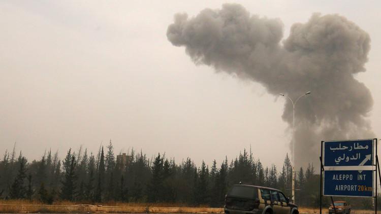 الأمم المتحدة: قصف دبابات أصاب مكتبنا في حلب