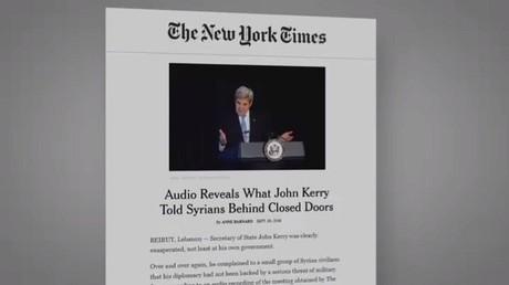 كيري يقترح انتخابات بمشاركة الأسد
