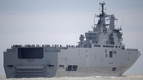 سفينة ميسترال (صورة من الأرشيف)