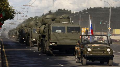 منظومة اس 400 الروسية (صورة من الأرشيف)