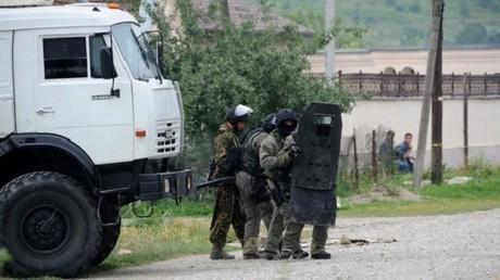 قوات أمن روسية (صورة أرشيفية)