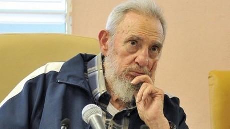 الزعيم التاريخي للثورة الكوبية، فيديل كاسترو