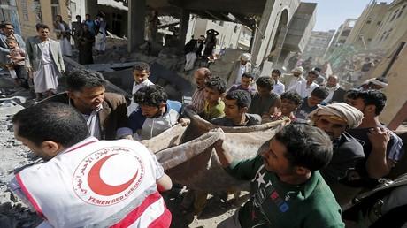 جرحى وقتلى في غارات التحالف العربي على اليمن - أرشيف