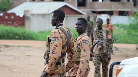 قوات حكومية  في دولة جنوب السودان