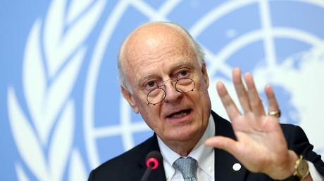 المبعوث الدولي الخاص في الشأن السوري ستيفان دي ميستورا