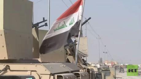 الجيش العراقي يحقق مكاسب قرب الموصل