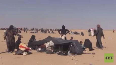عدسة RT ترصد أوضاع لاجئي العراق بالحسكة