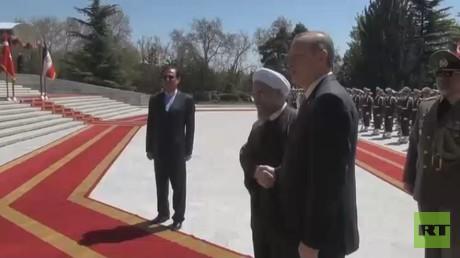توتر في العلاقات التركية الإيرانية