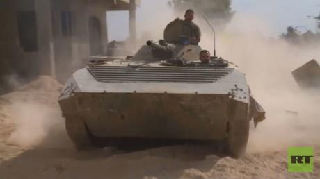 الجيش السـوري يصد هجوما للمسلحين في جـوبر