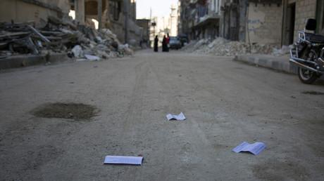 مشهد من مدينة حلب