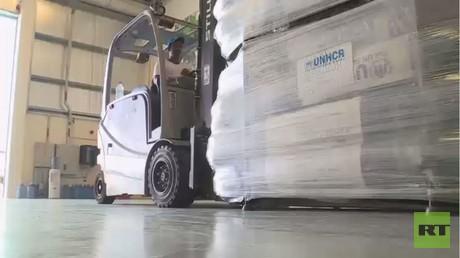 مساعدات أممية إلى أهالي الموصل