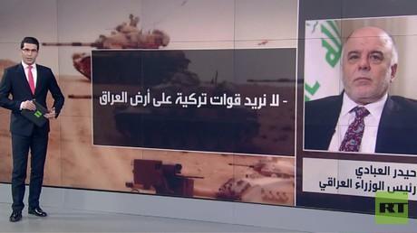العراق يرفض مشاركة تركيا باستعادة الموصل