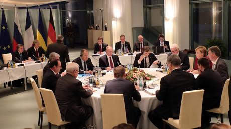 اجتماع رباعية النورماندي - برلين 19/10/2016