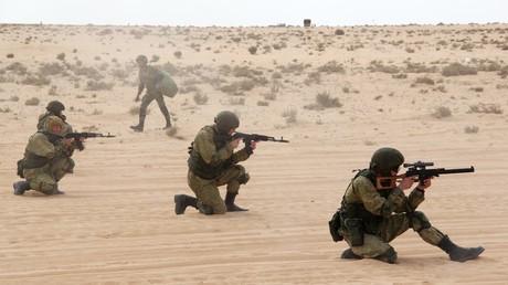 التدريبات الروسية المصرية المشتركة