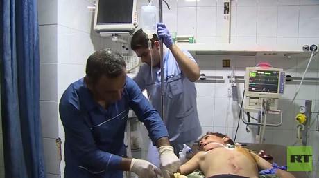 4 قتلى بينهم طفلان في قصف لمناطق بحلب