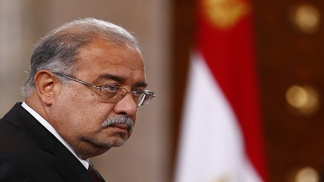 رئيس الوزراء المصري شريف اسماعيل