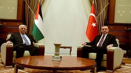 أردوغان وعباس