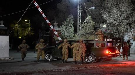 هجوم على أكاديمية الشرطة في مدينة كويتا