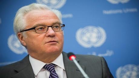 فيتالي تشوركين مندوب روسيا الدائم في منظمة الأمم المتحدة