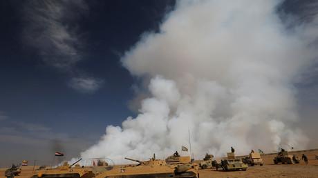 القوات العراقية تتقدم نحو مدينة الموصل