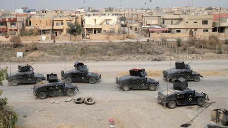 الجيش العراقي في ناحية برطلة  قرب الموصل