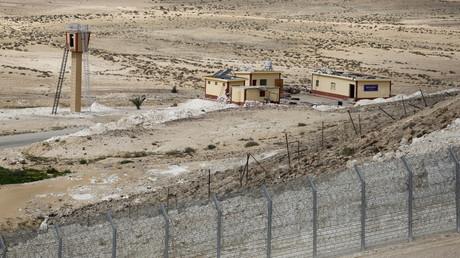 الحدود المصرية-الإسرائيلية. صورة من الأرشيف