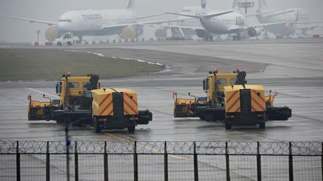 مطار فنوكوفو بموسكو