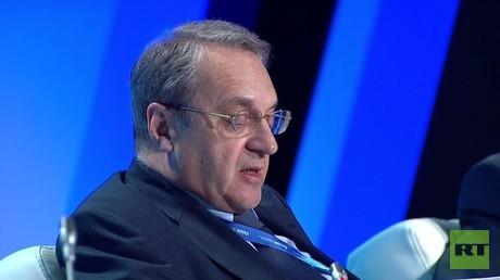 بوغدانوف: لا يوجد لدينا أي جدول خفي حول سوريا