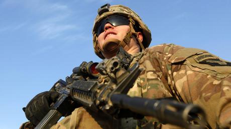 جندي أمريكي بجنوب الموصل