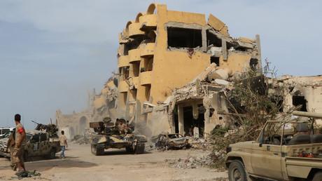 عملية عسكرية لقوات حكومة الوفاق الوطنية بسرت الليبية